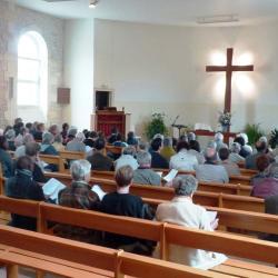 assemblée culte temple de Courlay